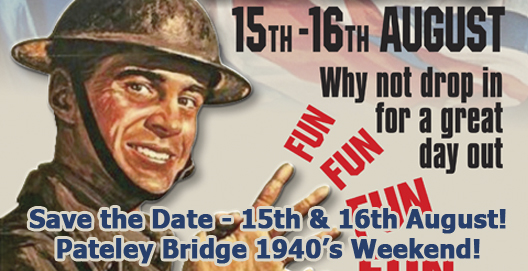 Pateley Bridge 1940s Weekend August 2015