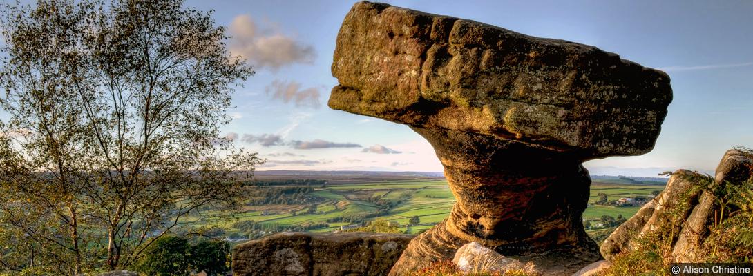 Brimham Rocks in Nidderdale
