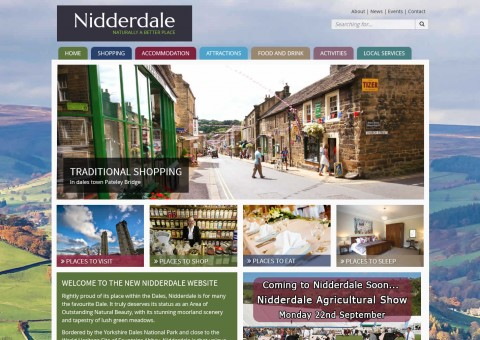 New Nidderdale website