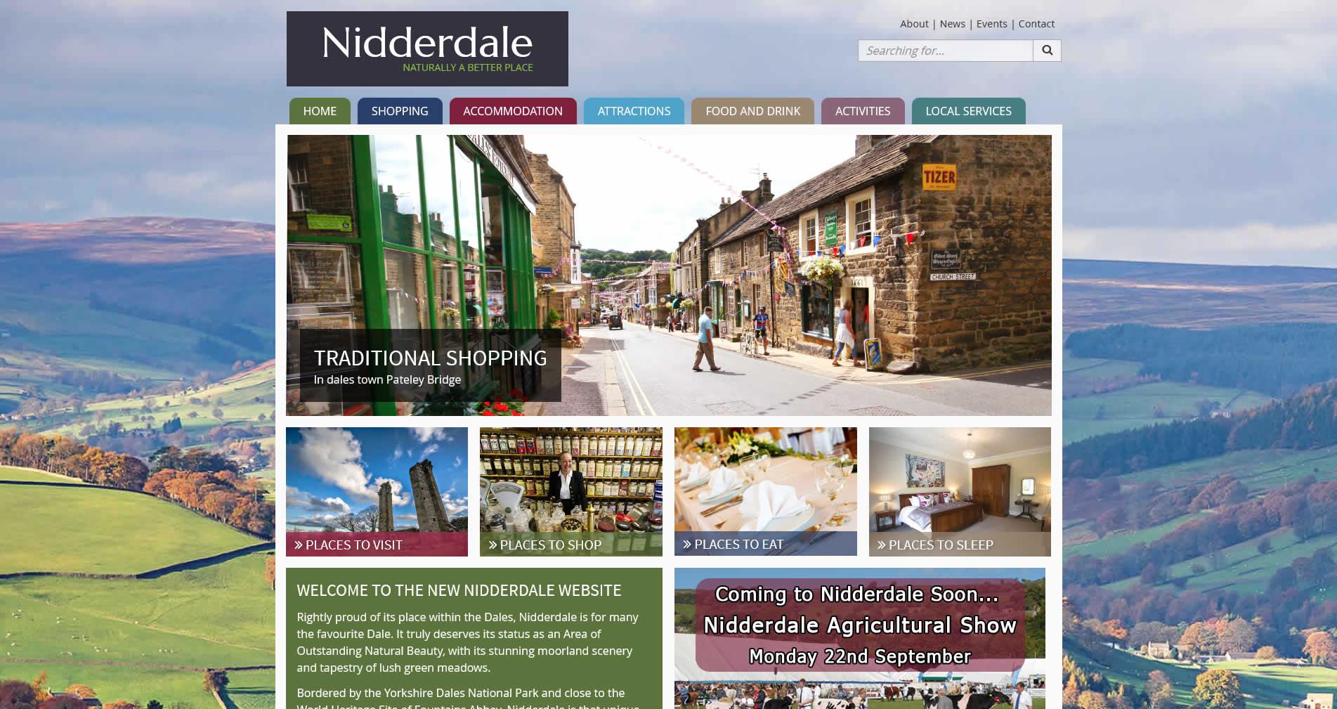 New Nidderdale website