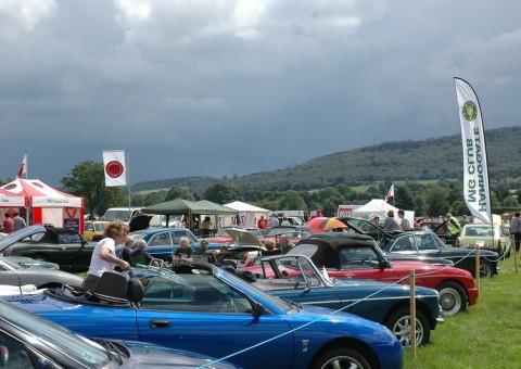 Northern National Harrogate MG Car Show Nidderdale - Mg car show