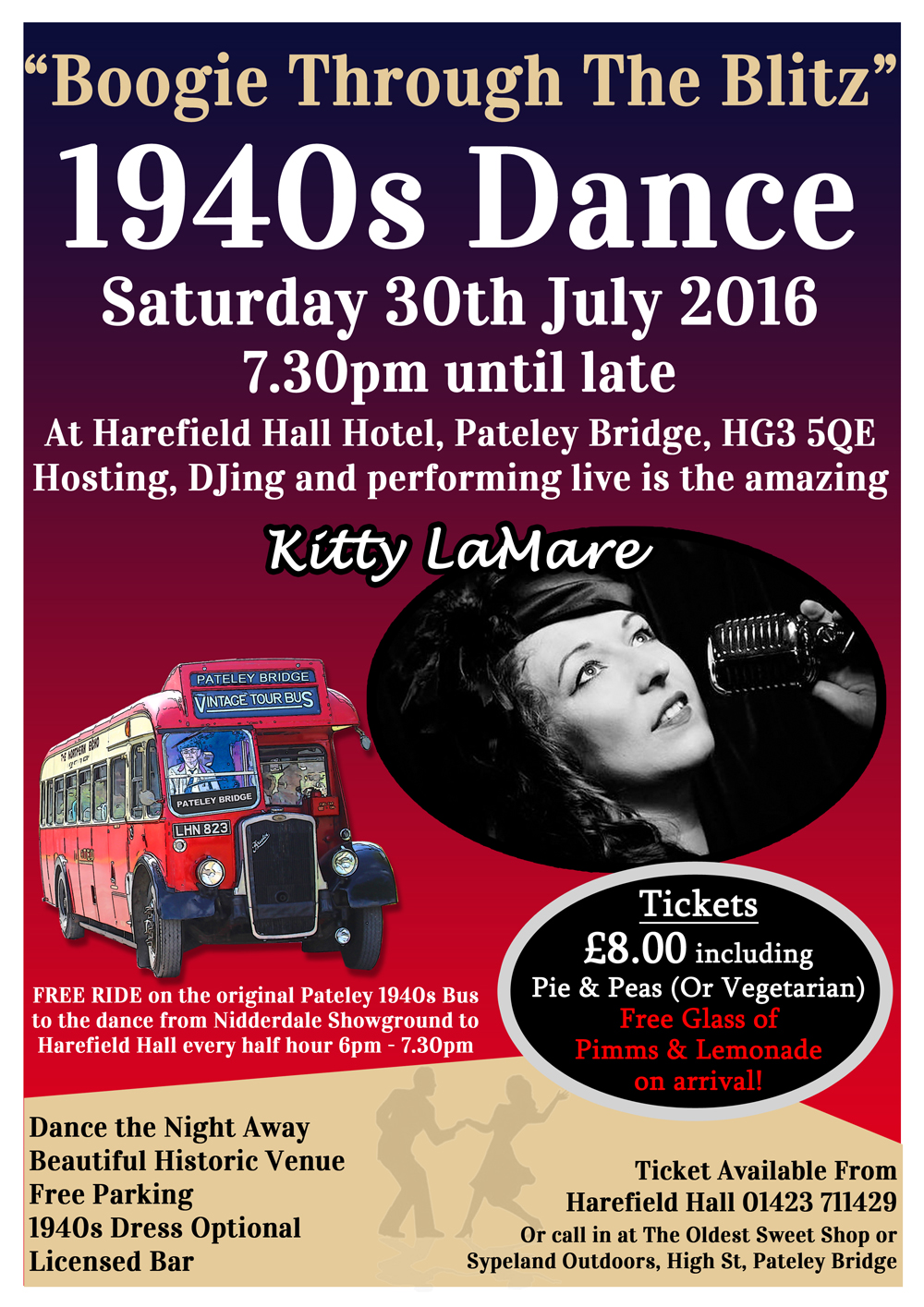 1940s dance with pimms 1000px