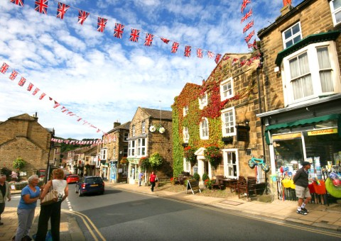 Looking down the High Street in Pateley Bridge2