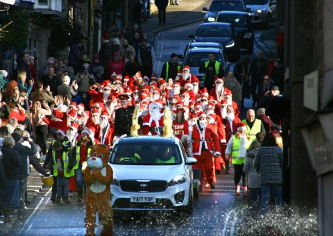 Santa Parade for charity 2